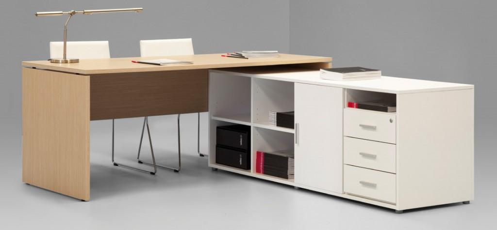 Mesas de oficina boga mesas de escritorio muebles de for Mobiliario de oficina mesas