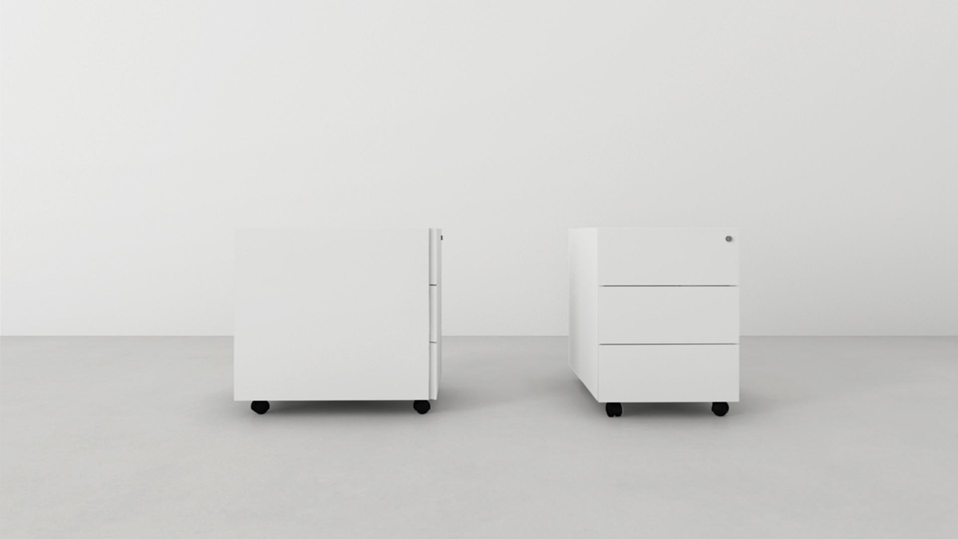 Accesorios mobiliario de oficina agaru - Cajonera para oficina ...