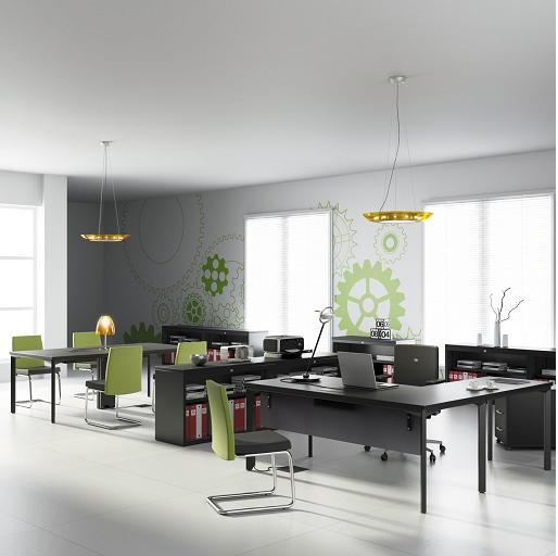 Multipuesto mobiliario de oficina mobiliario de oficina for Mobiliario de oficina mesas